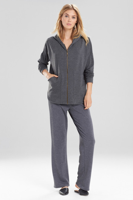 Buy Natori Brushed Knit Hoodie from