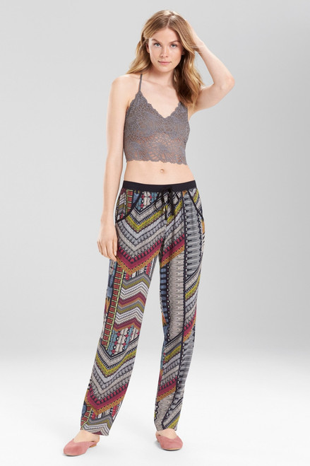 Buy Josie Boheme Pants Black Multi from