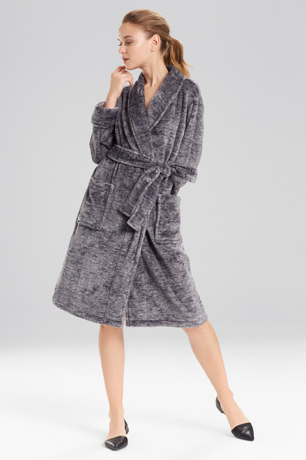 Buy N Natori Plush Melange Robe from