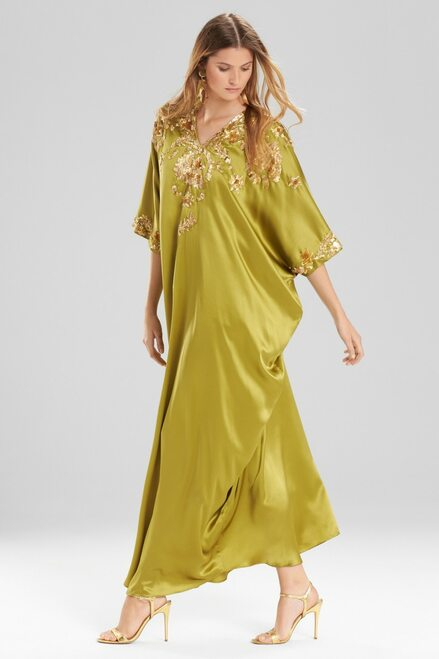 Buy Josie Natori Couture Beaded Suzani Caftan from