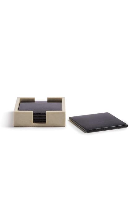 Buy Natori Shagreen Coaster Set from