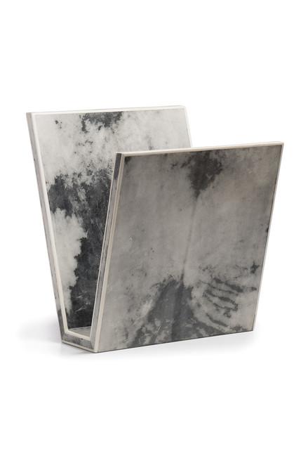 Buy Natori Shagreen Marble Magazine Rack from