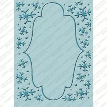 CUTTLEBUG WINTER FROLIC Embossing Folder Set of 4 2000566 CHRISTMAS CRICUT COMPANION
