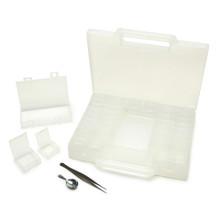 Bead Organizing Carrying Case 55pc Set Storage