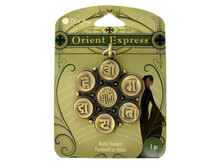 Orient Express Asian Inspired Pendant Meta; Embellishment Use for Jewelry or Card Art