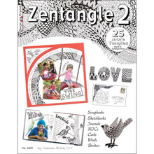 Zentangle 2 Book 40 More Tangles Drawing Inspiration Ideas Instruction