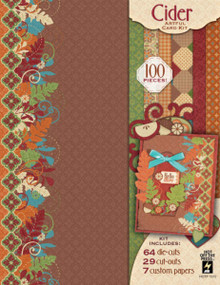 Hot Off The Press Cider Artful Card Kit 7272 Beautiful Autumn Colors
