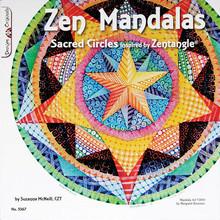 Zen Mandalas Sacred Circles Inspired by Zentangle Book Drawing