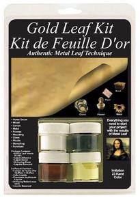 Gold Leaf Kit for Authentic Metal Leaf Technique