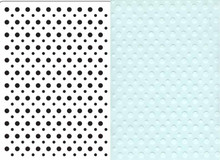 Crafts-Too SPOTS Embossing Folder CTFD3020