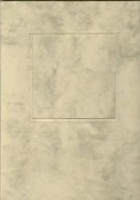 Square Window Card w/ envelope & Insert PARCHMENT