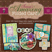 Teresa's Amazing Folded Cards N1515 - 52 Folds 104 Card Ideas CD