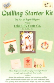 QUILLING STARTER KIT Lake City Craft Stotted & Needle