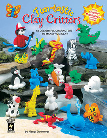 Fun-tastic Clay Critters Crayola Model Magic Fimo BOOK NEW Retired