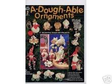A-Dough-Able Ornaments Clay Dough Art OOP NEW BOOK