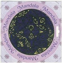 MANDALA Metal Template 4-Petal Flower 4066503