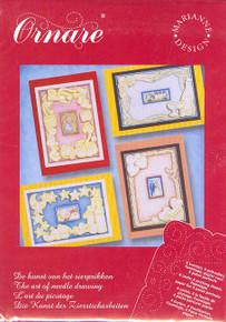 Ornare Paper Pricking Card Kit Wedding Baby