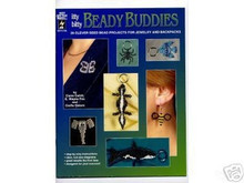 Itty Bitty Beady Buddies Bead Seed Beading Book - 2198