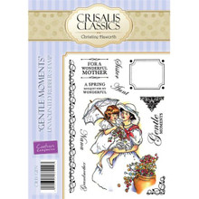 Crisalis Classics Gentle Moments by Christine Haworth 12-Stamp EZMount Rubber Stamp Set