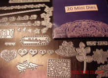 Tattered Lace 20-Die Minis Super Value Pack Mystery Pack Cutting Dies