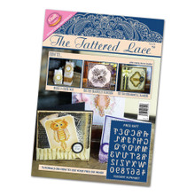 Tattered Lace Magazine with Elegant Alphabet Cutting Dies Issue 3