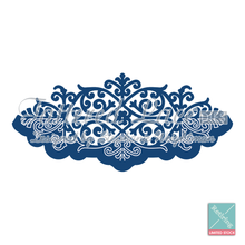 Tattered Lace - Over the Edge Floral Cutting Die D187