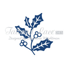 Tattered Lace - Christmas Florals Holly - D437 Cutting Die