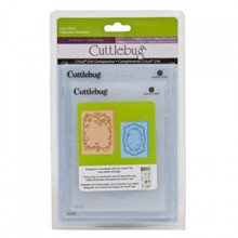 CUTTLEBUG Lacy Labels Set-of-2 Embossing Folders 2001047