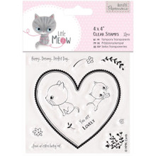 Little Meow You Are Lovely Clear Stamp Set