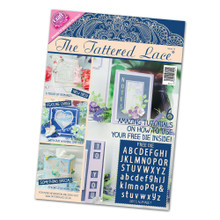Tattered Lace Magazine Issue 15 with 2015 Alphabet Cutting Dies