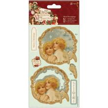 DoCrafts Victorian Christmas - Mini Decoupage - Angels