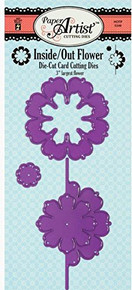 HOTP Paper Artist Inside/Out Flower Cutting Dies HOTP5346 Set of Three