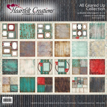 Heartfelt Creations All Geared Up - All Geared Up Paper Collection