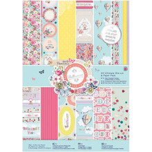 docrafts Papermania Bellissima Ultimate Die-Cut Paper Pack