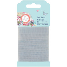 docrafts Papermania Bellissima Silk Ribbon, 5 m
