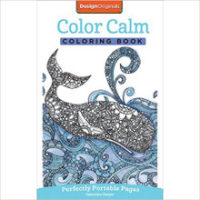 Color Calm Coloring Book: On-The-Go! [Paperback] by Harper, Valentina