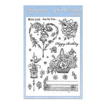 Hunkydory Crafts Clear Stamps Love Birds