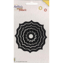 Nellie's Choice Multi Frame Dies- MFD010 Eastern Round Has 5 Nested Dies