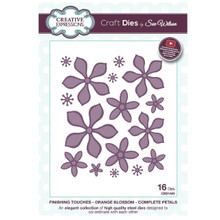 Craft Die CED1445 Sue Wilson Finishing Touches - Orange Blossom - Complete Pe...