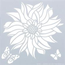 HOTP Stencils 6X6-Dahlia