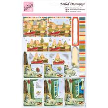 Anita's Foiled & Die-Cut Decoupage 3-D Papier Tole --  Harbourside 169644