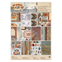 DoCrafts Mr Smith's Workshop A4 Ultimate Die-Cut & Paper Pack 48-Sheets Card Kit