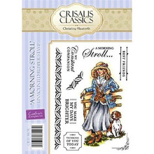 Crisalis Classics A Morning Stroll by Christine Haworth EZMount Stamps