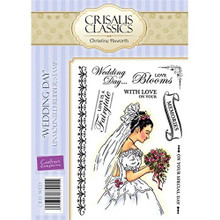 Crisalis Classics Wedding Day By Christine Haworth EZMount Stamps