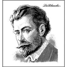 LaBlanche Silicone Stamp 2.5'X2.5'-Gentleman