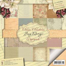Amy Design Classic Christmas - 6X6 Paper Pack ADPP10005