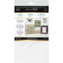 Deco Foil Foam Adhesive Double-Sided Transfer Adhesive 2 Sheets