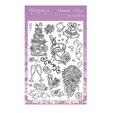 Hunkydory Crafts Clearly Clear Stamps Your Special Day