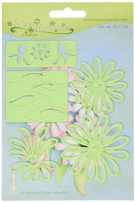 Lea'bilitie Multi Die Flower 9 Chrysant Cut & Embossing Die
