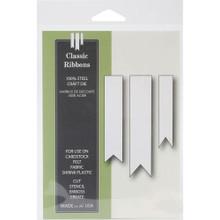 Poppystamps 100% Steel Craft Dies Classic Ribbons ps1005